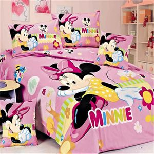 housse de couette enfant minnie achat vente housse de couette enfant minnie pas cher cdiscount. Black Bedroom Furniture Sets. Home Design Ideas