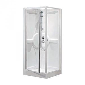 Cabine de douche carree 90 x 90 achat vente cabine de douche carree 90 x 90 pas cher cdiscount - Cabine de douche sans porte ...