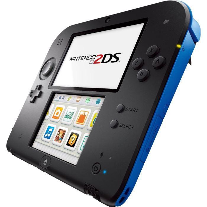 2ds bleue et noire achat vente console 2ds console 2ds noire et bleue soldes d t cdiscount