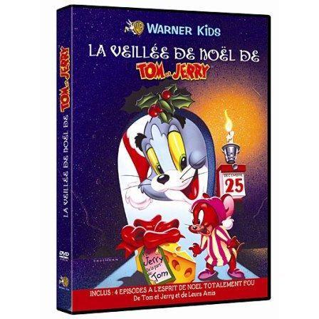 Dvd tom et jerry la veill e de no l en dvd film pas cher - De tom et jerry ...