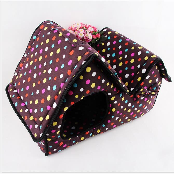 demart petite maison pour chien chat violet achat vente cage demart petite maison pour c. Black Bedroom Furniture Sets. Home Design Ideas