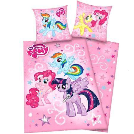 parure de lit cheval my little pony achat vente. Black Bedroom Furniture Sets. Home Design Ideas