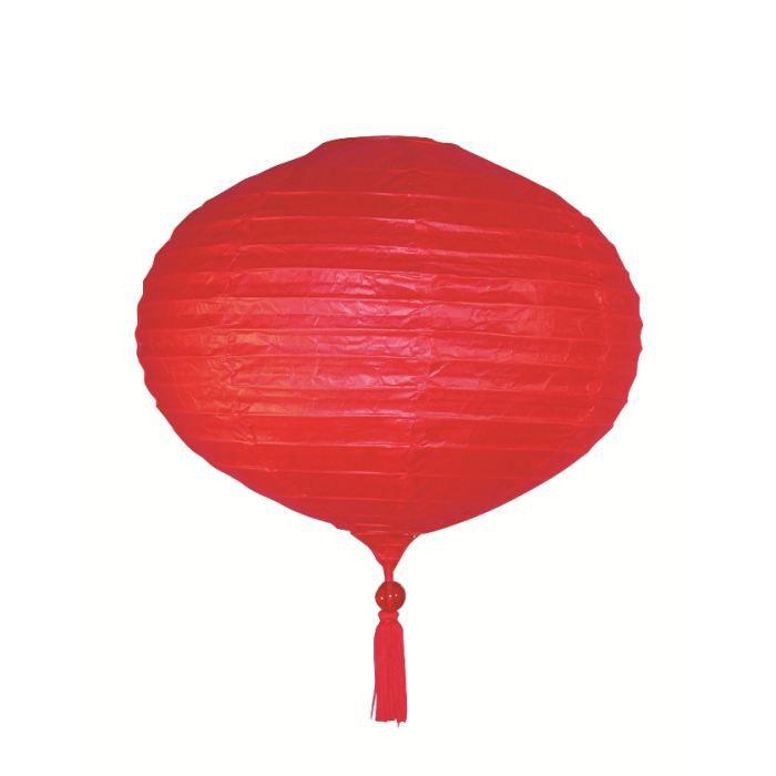 suspension papier japonais forme goutte rouge 4 achat. Black Bedroom Furniture Sets. Home Design Ideas