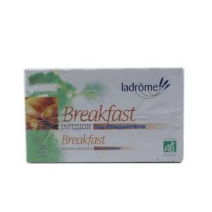 INFUSION Ladrome Infusion Breakfast au Gingembre 20 sach…