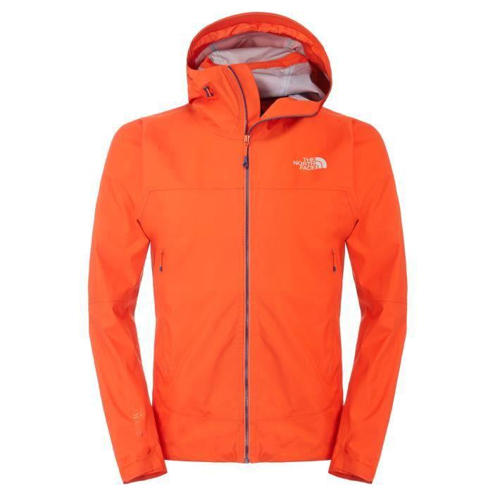 the north face m oroshi jacket veste randonnee orange achat vente parka soldes cdiscount. Black Bedroom Furniture Sets. Home Design Ideas