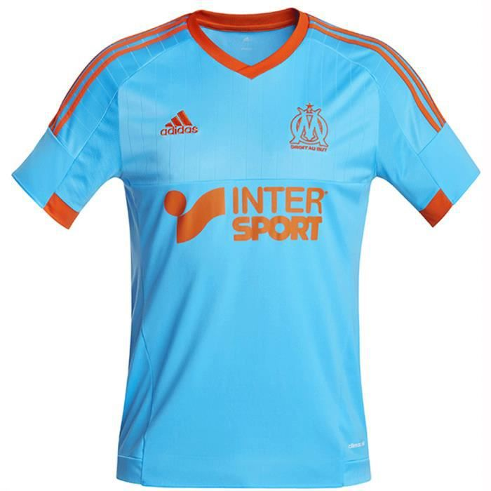 Adidas maillot football olympique marseille om exterieur neuf for Maillot exterieur om