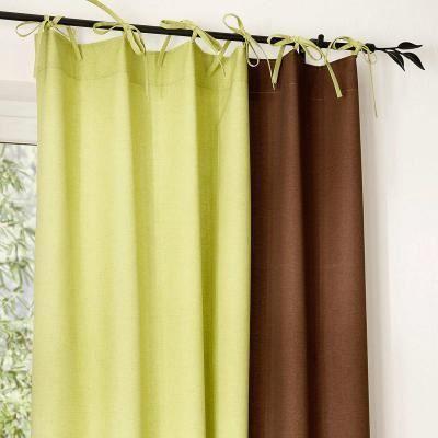 paire de rideaux bicolores quelle achat vente rideau voilage paire de rideaux bicolores. Black Bedroom Furniture Sets. Home Design Ideas