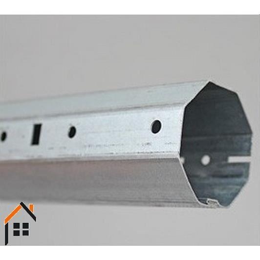 embout tube r glable volet roulant octogonal 60mm longueur. Black Bedroom Furniture Sets. Home Design Ideas