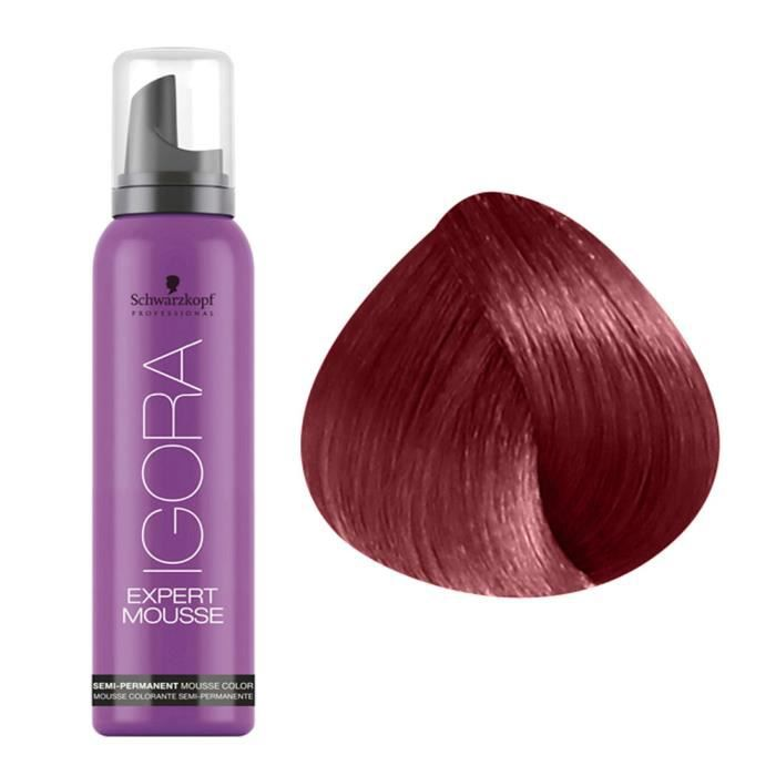 coloration coloration 5 88 chtain clair rouge extra 10 - Schwarzkopf Coloration Semi Permanente