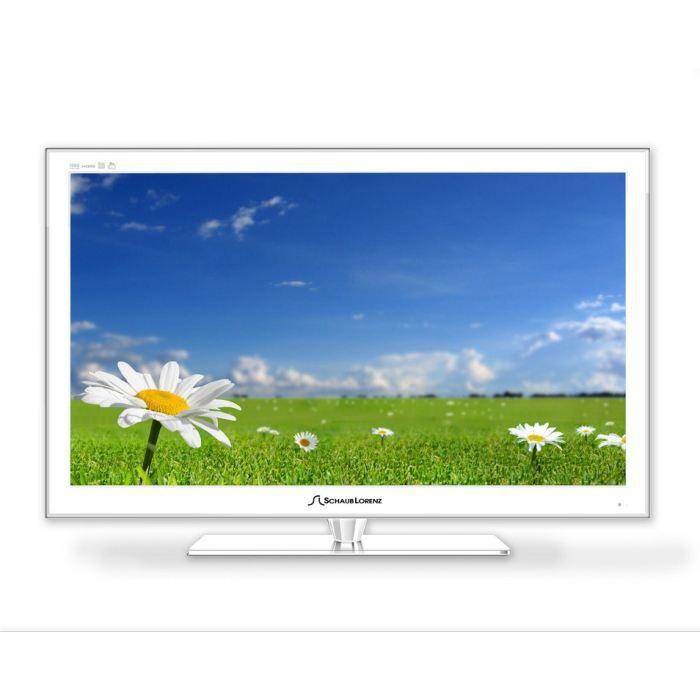 Tv led 26 39 39 mpeg4 fhd blanc schaub lorenz t l viseur led avis et - Televiseur blanc pas cher ...