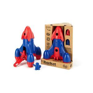 Green Toys La fusée - Rouge