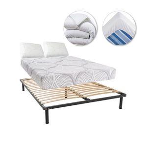 ensemble sommier et matelas 140x200 achat vente ensemble sommier et matelas 140x200 pas cher. Black Bedroom Furniture Sets. Home Design Ideas