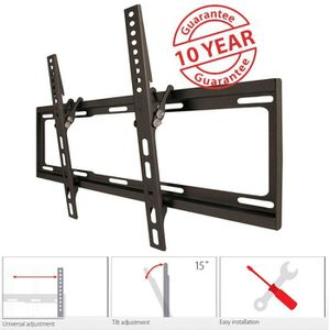 ONE FOR ALL WM2420 Support TV Smart 81-140 cm (32-55'') - Poids max. : 35kgs - Inclinable 15? - Garantie 10 ans