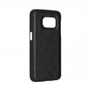 Coque XQISIT iPlate Eman Galaxy S7 Noir