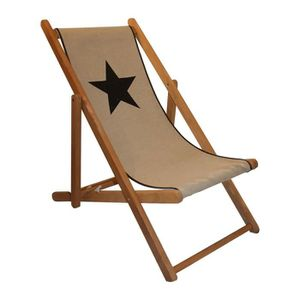 Transat bain de soleil enfant achat vente transat bain for Chaise longue toile bois