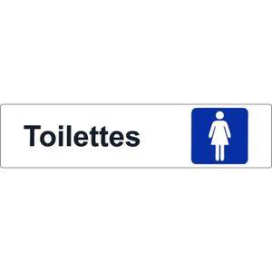 Panneau wc achat vente panneau wc pas cher les for Autocollant porte wc