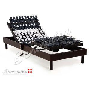 sommier electrique 90x200 achat vente sommier electrique 90x200 pas cher soldes cdiscount. Black Bedroom Furniture Sets. Home Design Ideas