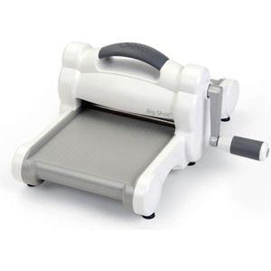 Support à décorer BIG SHOT Machine manuelle à découper et gaufrer -