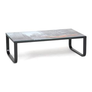 Table basse blanche avec tiroirs achat vente table basse blanche avec tir - Table basse relevante ...
