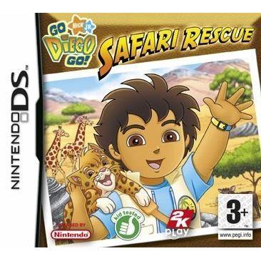 Go diego achat vente jeu ds dsi go diego mission safari ds cdiscount - Jeux de go diego ...