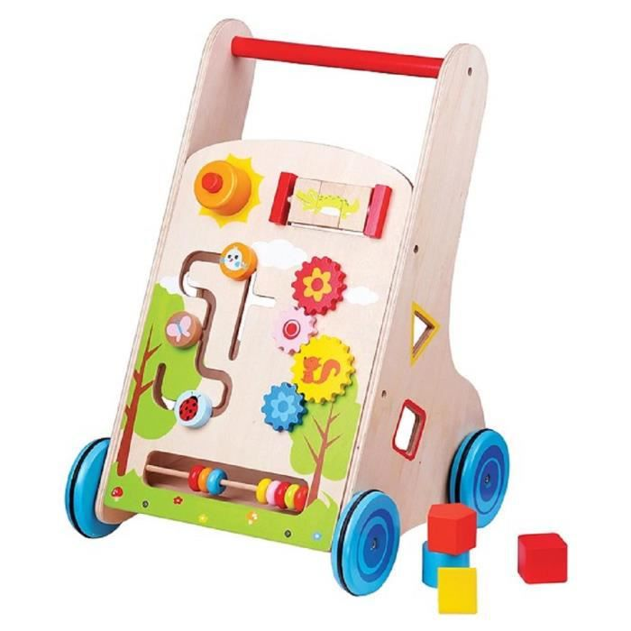 lelin toys chariot pousser multi activit s 7 en 1 achat vente porteur pousseur. Black Bedroom Furniture Sets. Home Design Ideas