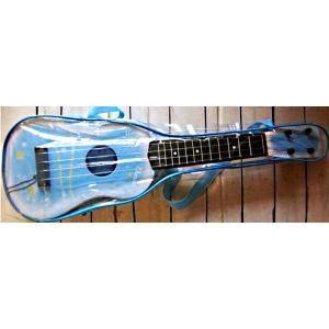 guitare pour enfant bleu 55 x 17 cm 4 cordes ac achat. Black Bedroom Furniture Sets. Home Design Ideas