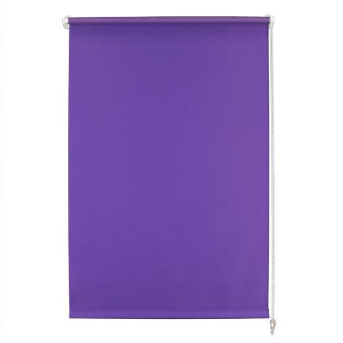 uralum 80 x 150cm stores enrouleurs avec rev tement thermique isolant violet rideaux. Black Bedroom Furniture Sets. Home Design Ideas