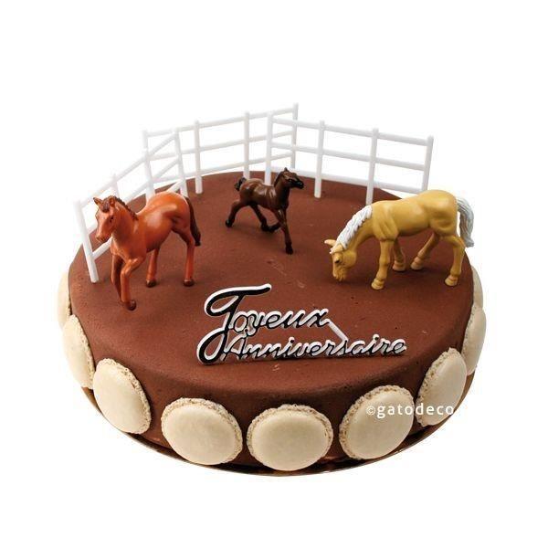 Patisserie decoration gateau - Decoration gateau cheval ...