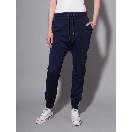 pantalon de jogging bleu marine achat vente pantalon pantalon de jogging cdiscount. Black Bedroom Furniture Sets. Home Design Ideas