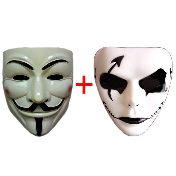 masque de clown effrayant achat vente jeux et jouets. Black Bedroom Furniture Sets. Home Design Ideas
