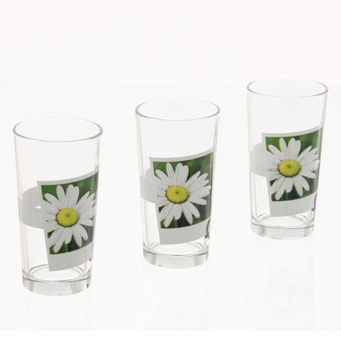 Paris prix lot de 3 verres zen blanc achat vente verre eau soda soldes cdiscount - Blanc de meudon prix ...