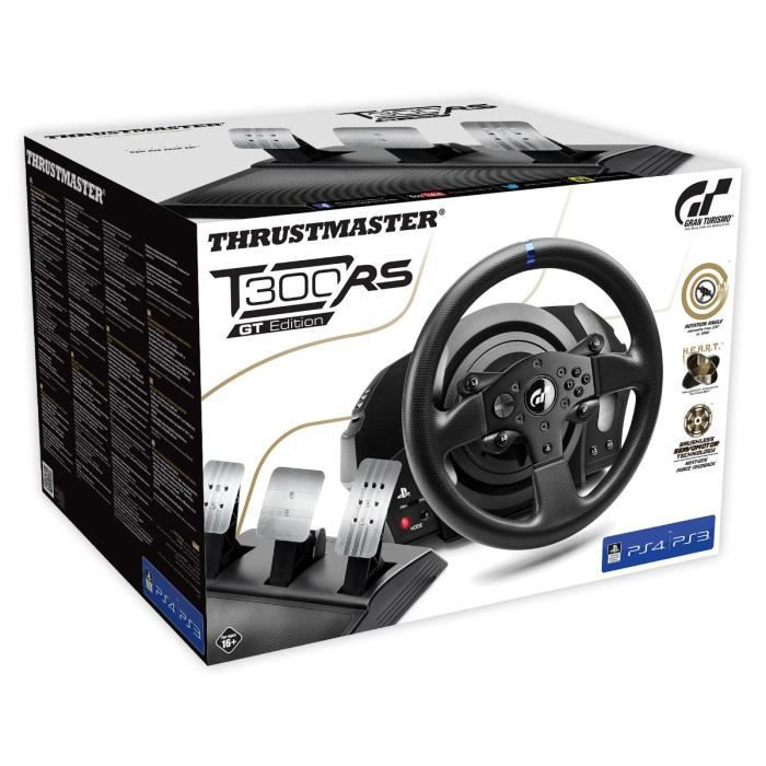 thrustmaster volant t300rs gran turismo edition ps4 ps3 gamingpascher. Black Bedroom Furniture Sets. Home Design Ideas