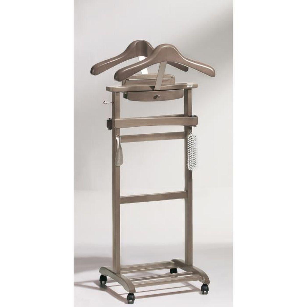 Valet de chambre en bois avec tiroir   achat / vente valet de ...