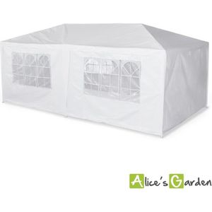 TONNELLE - BARNUM Tente de réception 3x6m Aginum