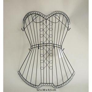 buste porte bijoux achat vente pas cher cdiscount. Black Bedroom Furniture Sets. Home Design Ideas