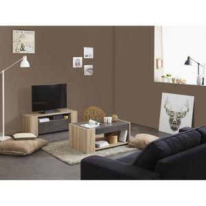 Ensemble meuble tv et table basse achat vente ensemble for Ensemble table basse et meuble tv pas cher
