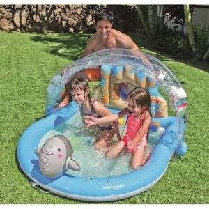 Piscine gonflable jeux bebe for Decathlon piscine tubulaire