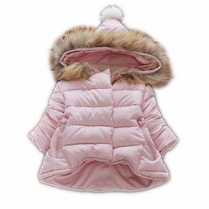 DOUDOUNE Bébé fille hiver coton manteau rose