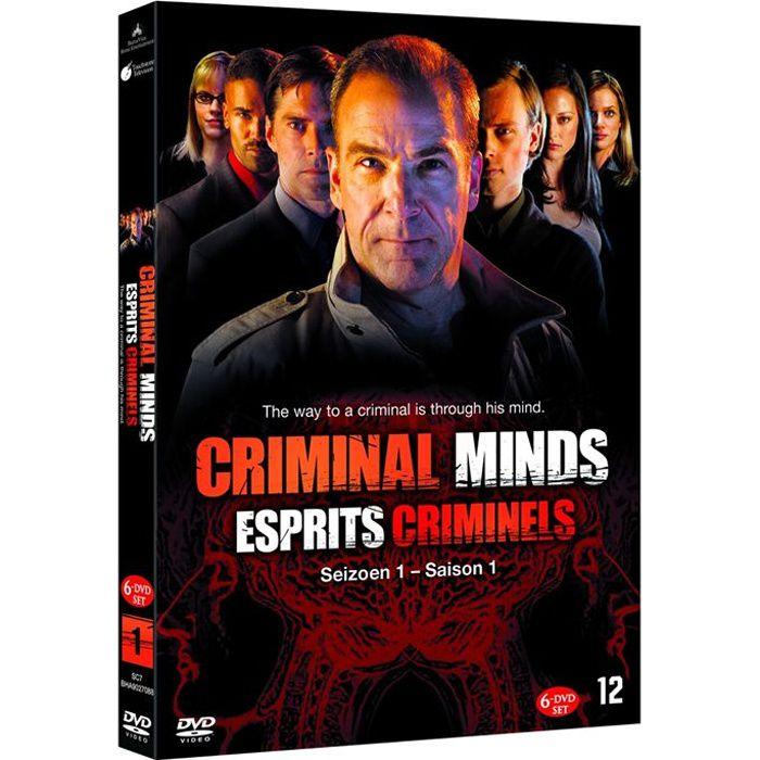 esprits criminels saison 1 l 39 int grale 6 dvd en dvd s rie pas cher cdiscount. Black Bedroom Furniture Sets. Home Design Ideas