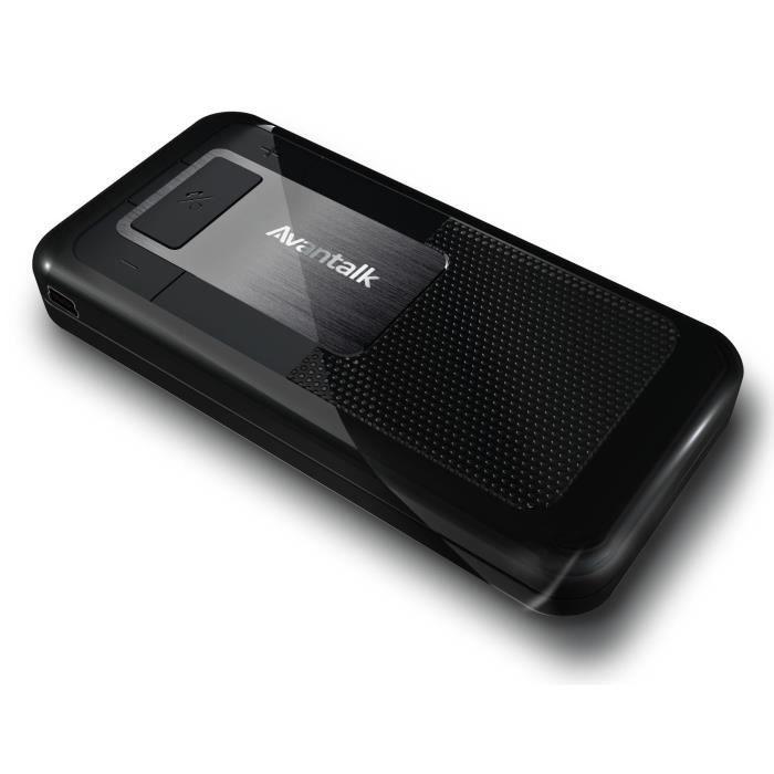 telephonie accessoires portable gsm kit mains libres voiture bluetooth avantree nova f  auc