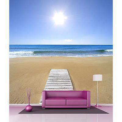 Papier peint g ant d coration murale sable plage r f 4540 for Papier peint decoration murale