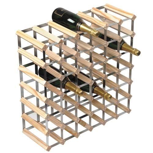 Tag re vin rta pour 42 bouteilles achat vente porte bouteille tag re - Etagere porte bouteille ...