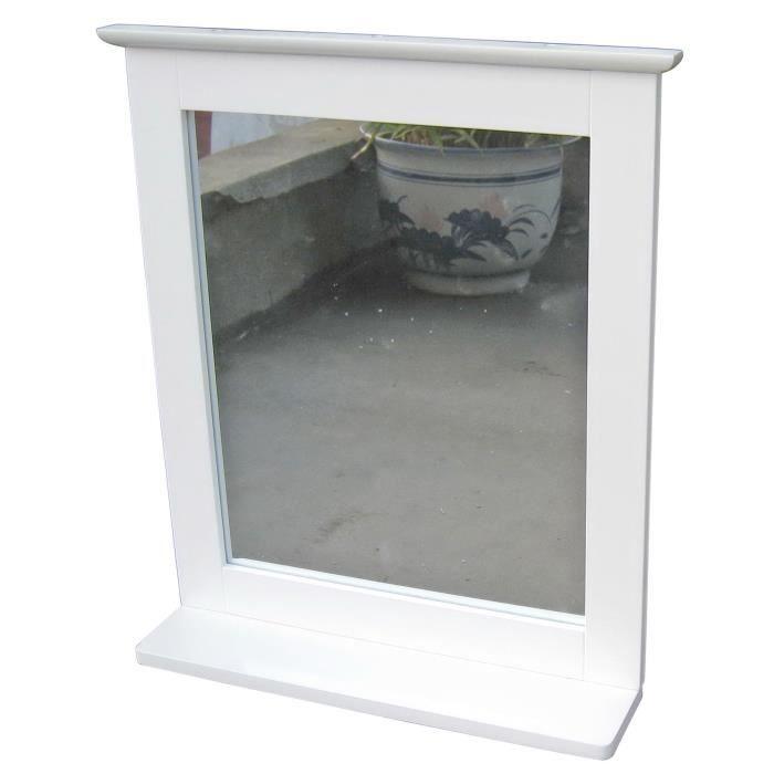 Miroir salle de bain blanc achat vente miroir salle de bain miroir salle - Miroir articule salle de bain ...