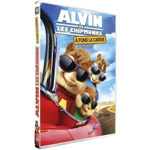 DVD DESSIN ANIMÉ DVD Alvin et les Chipmunks 4 : A fond la caisse
