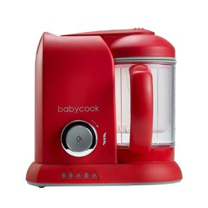 ROBOT BÉBÉ BEABA Robot Babycook Solo Red
