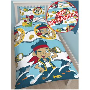 housse de couette pirate achat vente housse de couette pirate pas cher cdiscount. Black Bedroom Furniture Sets. Home Design Ideas