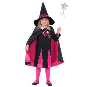 DÉGUISEMENT - PANOPLIE Déguisement apprentie sorcière (+ bag. magique)