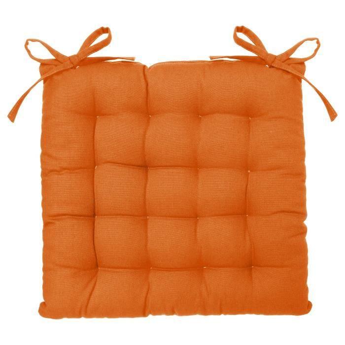galette de chaise framboise achat vente coussin de chaise cdiscount. Black Bedroom Furniture Sets. Home Design Ideas