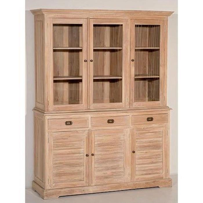 Bahut indon sien vaisselier 3 portes 3 tiroirs achat vente buffet bah - Bahut buffet vaisselier ...