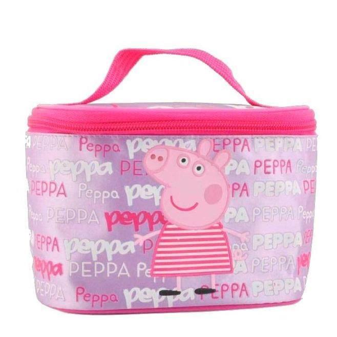 peppa pig trousse de toilette fillette achat vente trousse de toilette